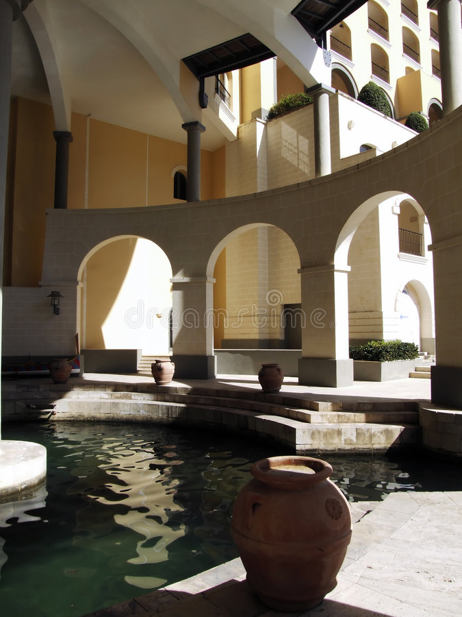 Arches & Spa stock images