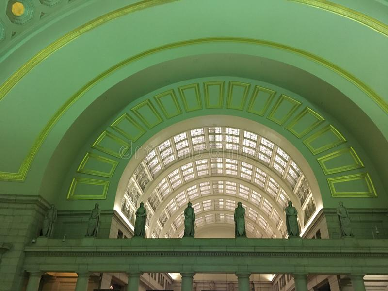 Arches at Union Station stock images