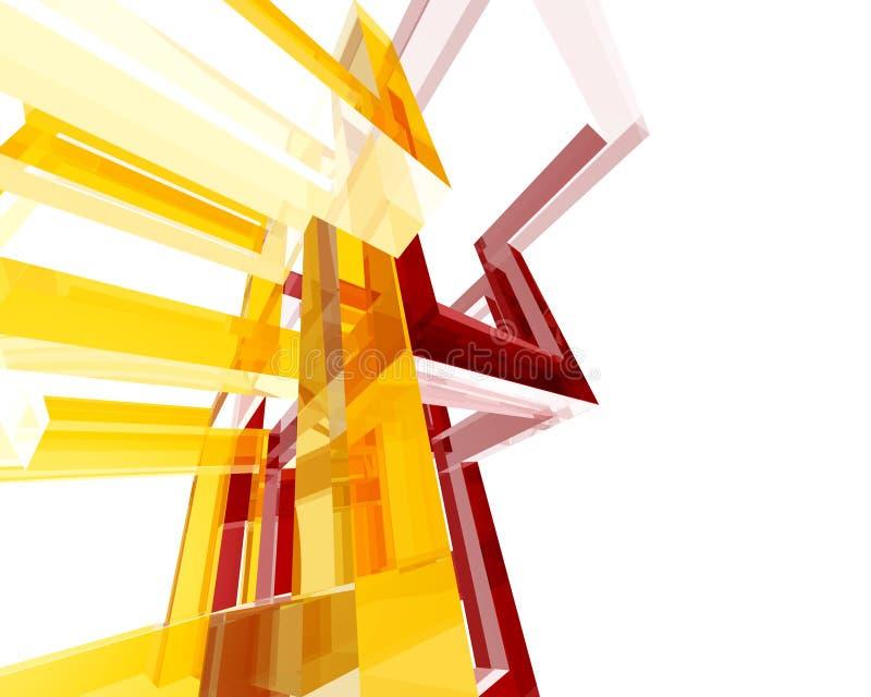 Archi abstrait Structure002 illustration libre de droits