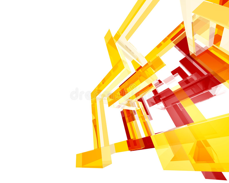 Archi abstrait Structure003 photo stock