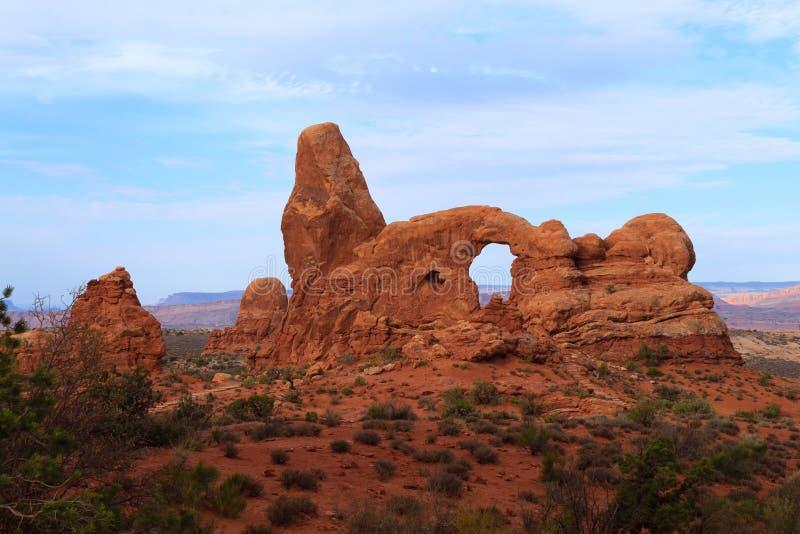 Archi sosta nazionale, Moab, S fotografia stock libera da diritti