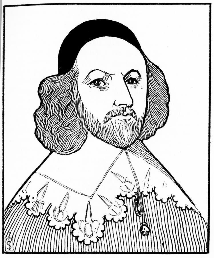 Archibald Johnston, Lord Wariston royaltyfri fotografi