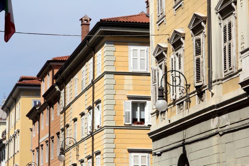 Archicture de Trieste, Itália imagem de stock