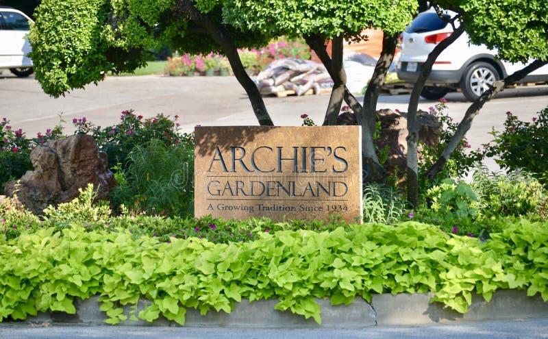 Archie Gardenland, Fort Worth, le Texas photos stock