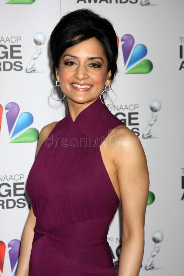 Download Archie Panjabi editorial photo. Image of arrives, archie - 23573371