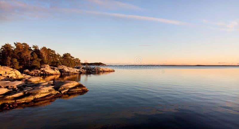 Archipel à Stockholm. images stock