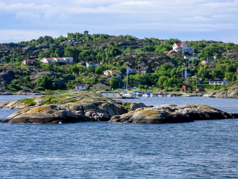 Archipel de Gothenburg en Suède photographie stock libre de droits