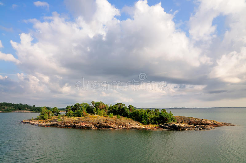 Archipelag Aland, Finlandia zdjęcia royalty free