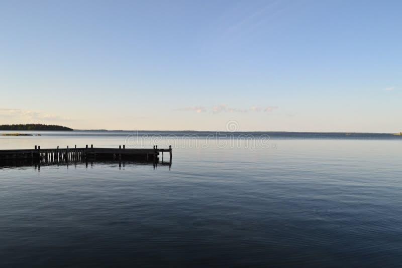 archipelag linia brzegowa obrazy stock