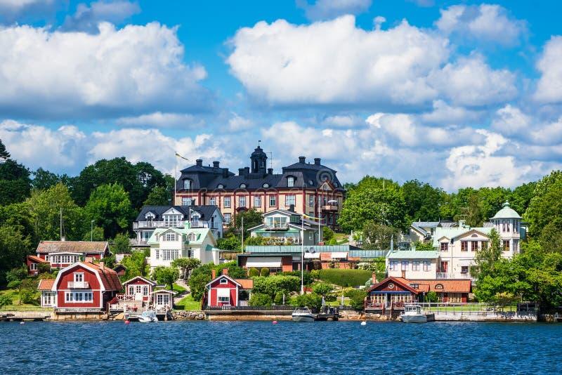 Archipelag na morza bałtyckiego wybrzeżu w Szwecja fotografia stock