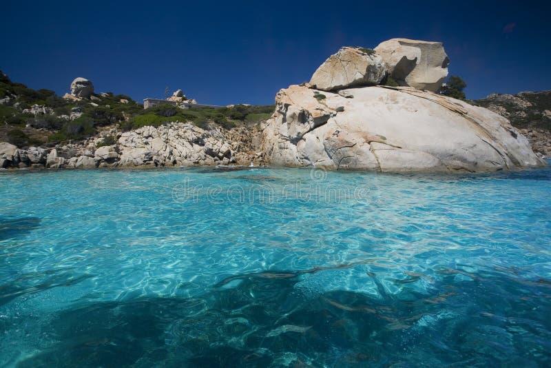 Archipelago of La Maddalena, Sardinia stock image