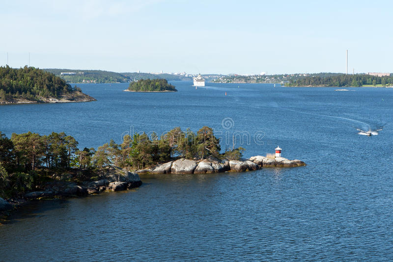 Download Archipelago near Stockholm stock photo. Image of season - 25352886