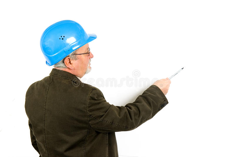 Architect royalty free stock image