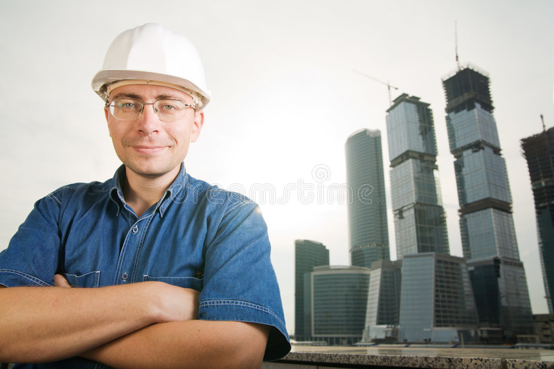 The architect royalty free stock photography