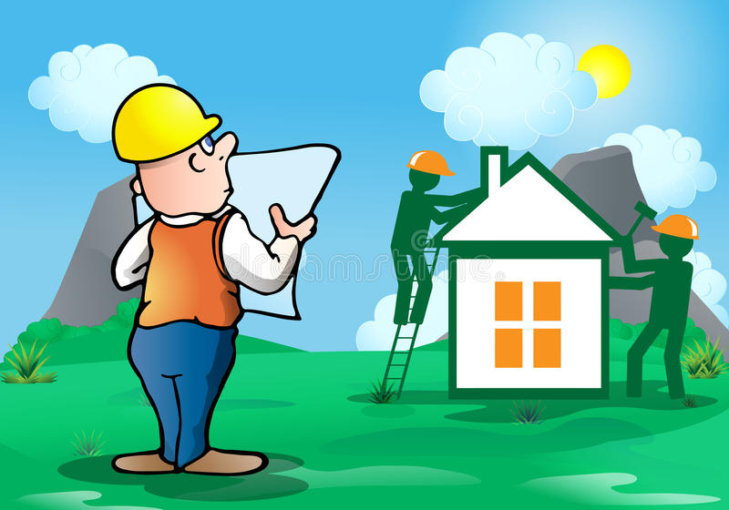 Build House Stock Illustrations – 44,227 Build House Stock ...