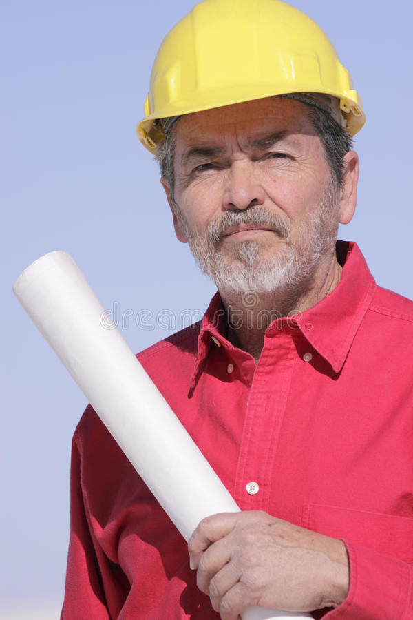 Download Architect, Builder, Contractor Stock Photo - Image: 18801320