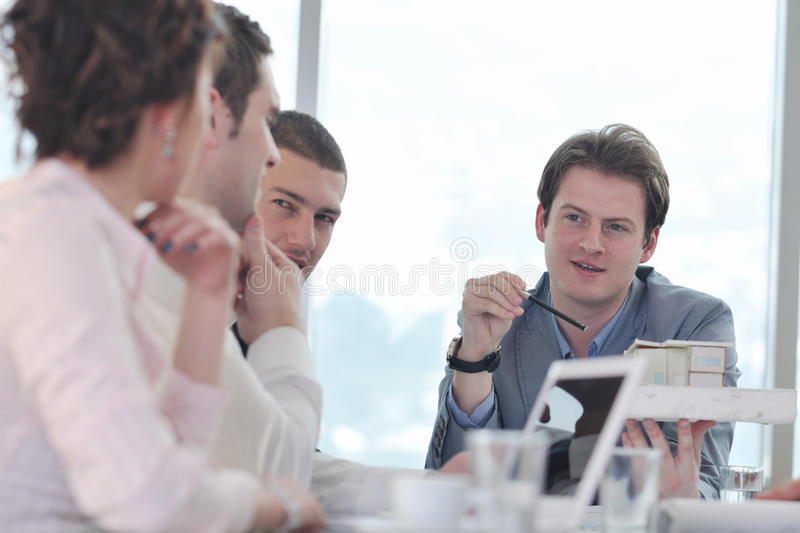 Download Architect Business Team On Meeting Stock Image - Image: 18722791