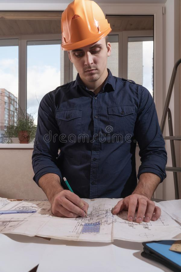 Great Download Architect Or Designer In The Process Of Work Stock Photo   Image  Of Designer,