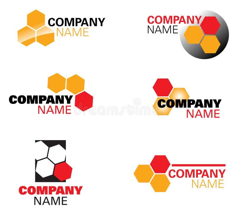 Architect or honey logo. High quality architect or honey logo-Beehive is a symbolic of architect vector illustration