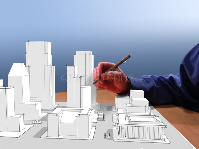 Download Architect's Dream stock image. Image of hold, business - 2006965