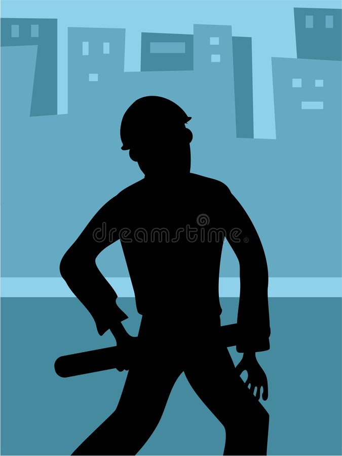 Download Architect Silhouette stock vector. Image of life, lifestyle - 109527