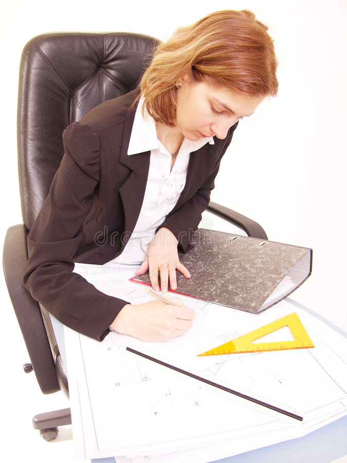 Download Architect Working 9 Stock Photography - Image: 81862