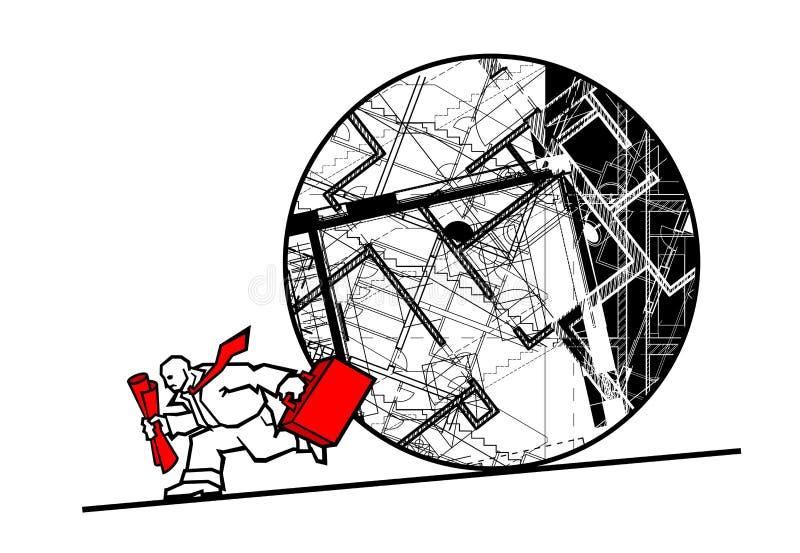 Architecte illustration de vecteur
