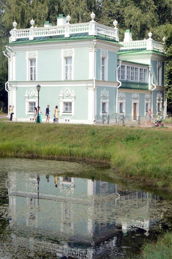 Architectes italiens Argun et Kologrivov August Heat de la Chambre 1754-55 de domaine de Kuskovo d'ensemble images stock