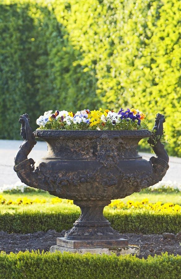 Architectonic detail. Schonbrunn gardens, Vienna stock image