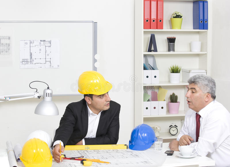 Architects royalty free stock image