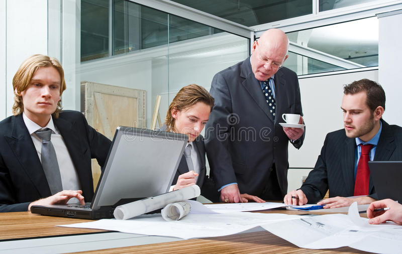 Architects Team Royalty Free Stock Images
