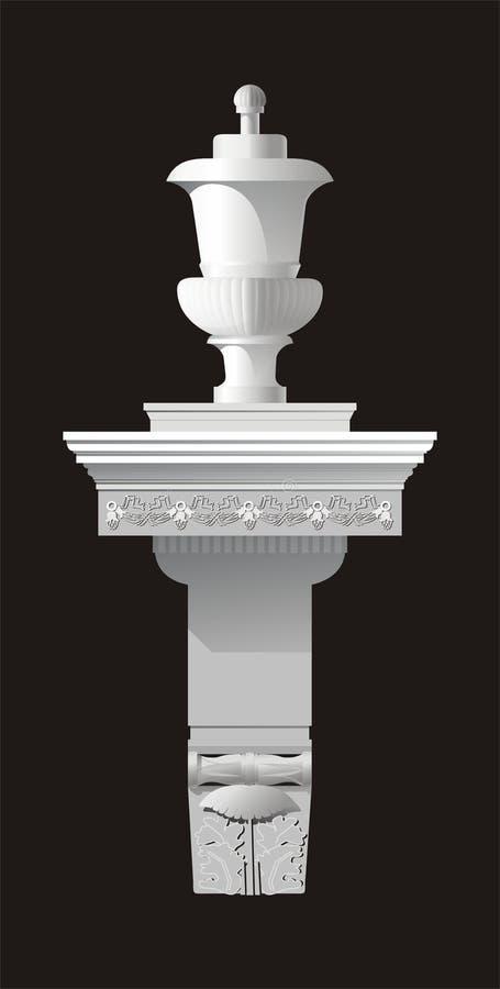 Architecturaal detail vector illustratie