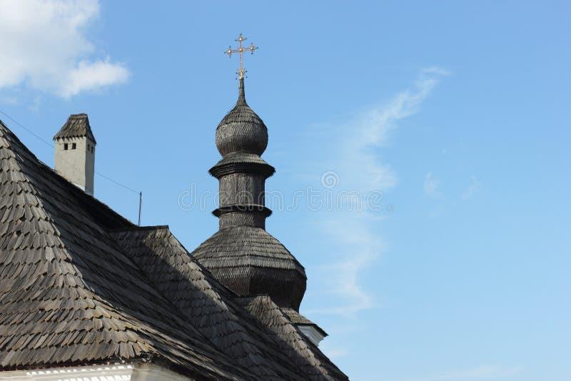 Architecturaal monument van de XVIII eeuw als deel van het kloosterensemble royalty-vrije stock fotografie