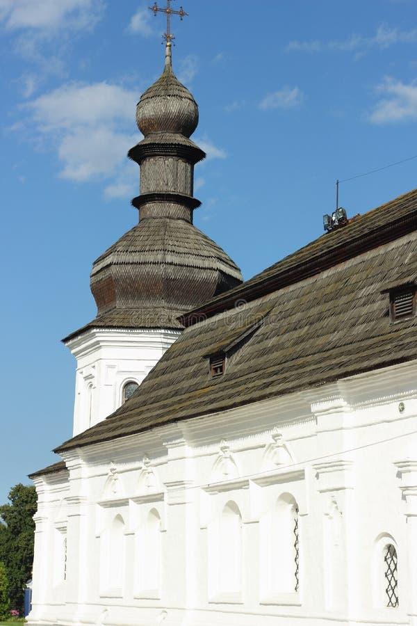 Architecturaal monument van de XVIII eeuw als deel van het kloosterensemble royalty-vrije stock afbeelding