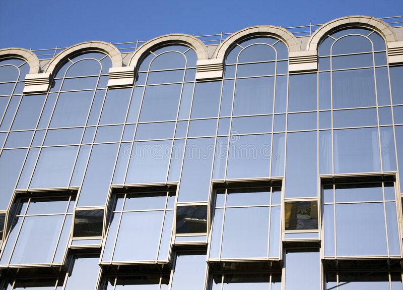 Architecturaal ritme royalty-vrije stock foto's