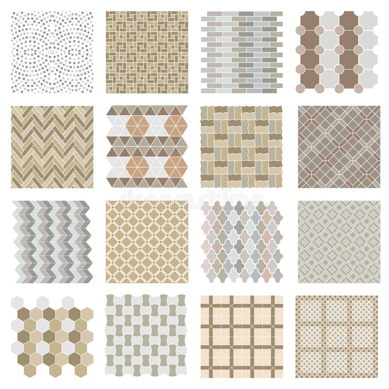 Free Architectural And Landscape Rocks And Bricks Patterns Set Stock Photos - 62447743