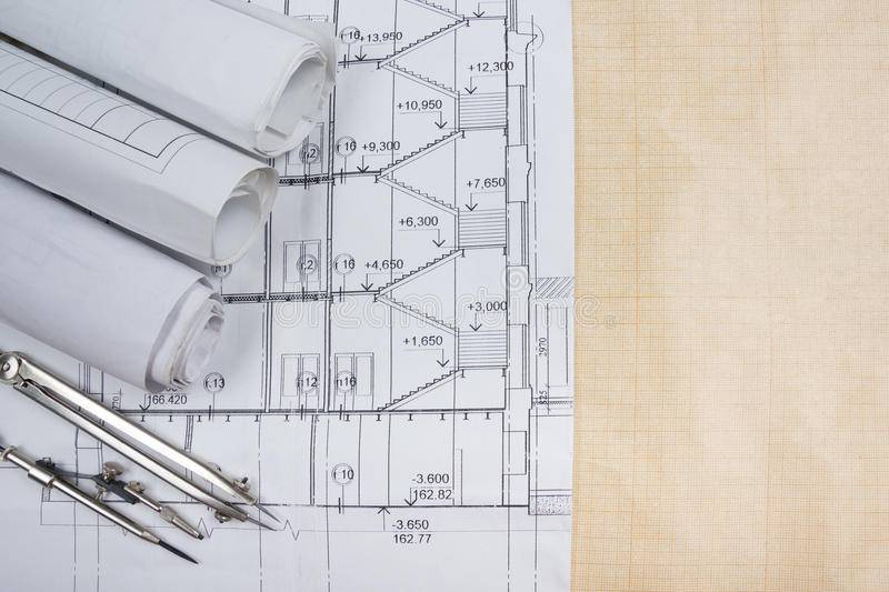 Architectural blueprints blueprint rolls compass divider calc download architectural blueprints blueprint rolls compass divider calc stock image image of malvernweather