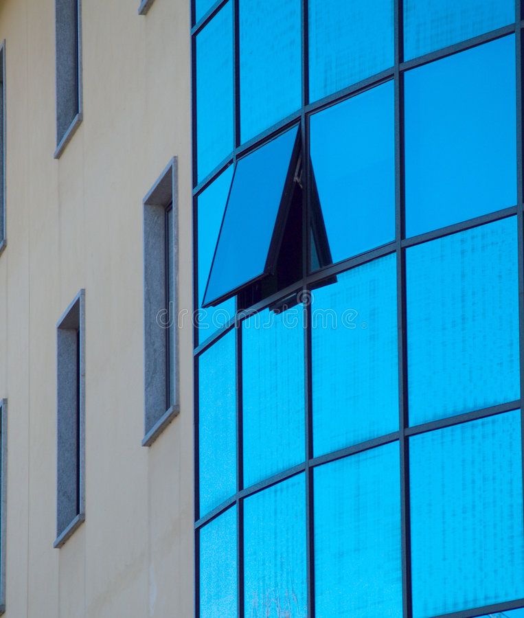 Download Architectural contrast stock photo. Image of detail, mirrors - 4531582