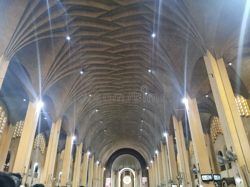 Architectural Design of Baclaran Church stock photography