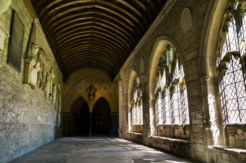 Chichester Cathedral, Cathedral Church of the Holy Trinity, United Kingdom royalty free stock images