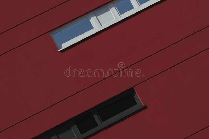 Architectural detail of a modern building stock photography