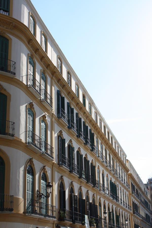 Architectural Detail ( Plaza de la Merced,Malaga ) royalty free stock photography
