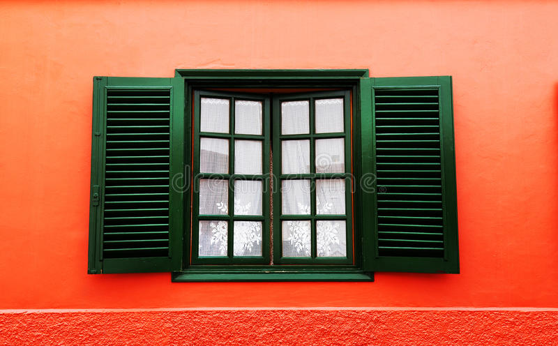 Architectural detail in San Sebastian de la Gomera. Canary Islands, Spain stock photos