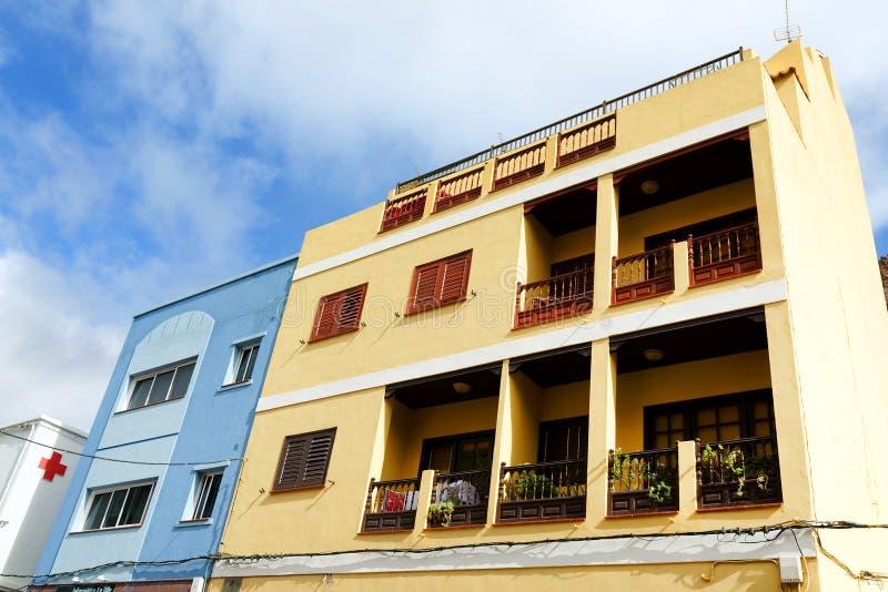 Architectural detail in San Sebastian de la Gomera. Canary Islands, Spain stock images