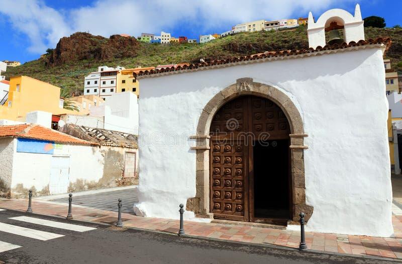 Architectural detail in San Sebastian de la Gomera stock images