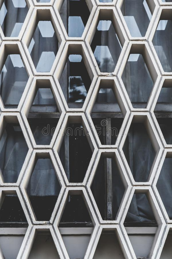 Architectural detail texture. Concrete pattern close up royalty free stock photo