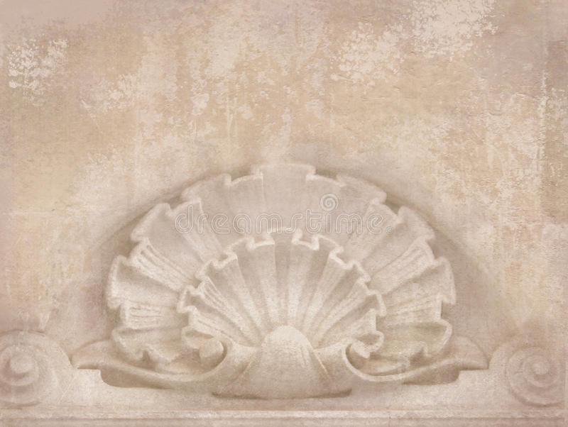 Architectural details blank for flyers messages business cards blank for flyers messages business cards posters etc in shabby chic style art deco figures carved on stone as decoration on a facade building reheart Image collections