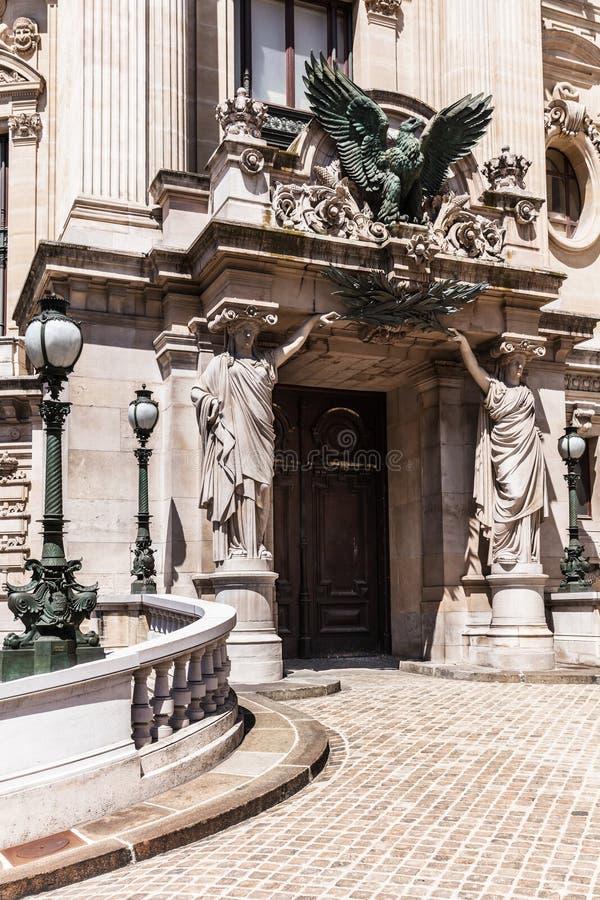 Opera House Paris - Grand Opera Opera Garnier. Paris, France stock photo