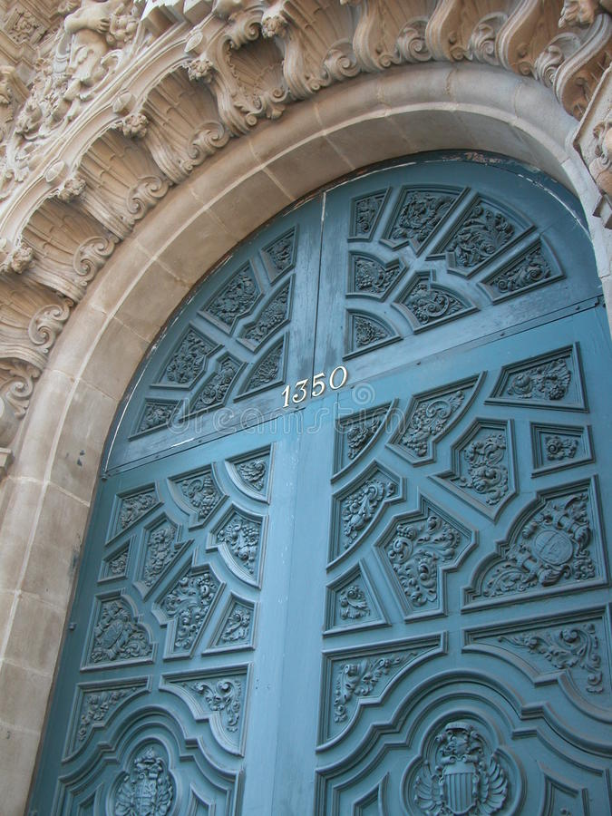 Free Architectural Details - San Diego CA Royalty Free Stock Images - 45132059