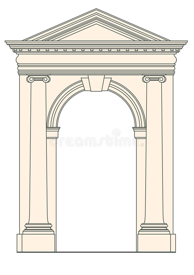 Download Architectural element stock vector. Illustration of olympic - 22112157